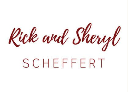 Rick and Sheryl Scheffert