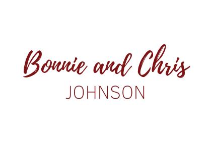 Bonnie & Chris Johnson
